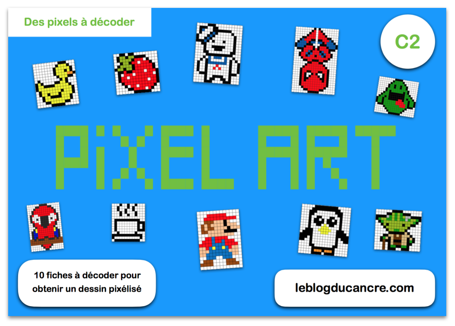 Pixel Art (en mode code secret)