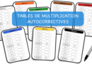 Tables de multiplication autocorrectives