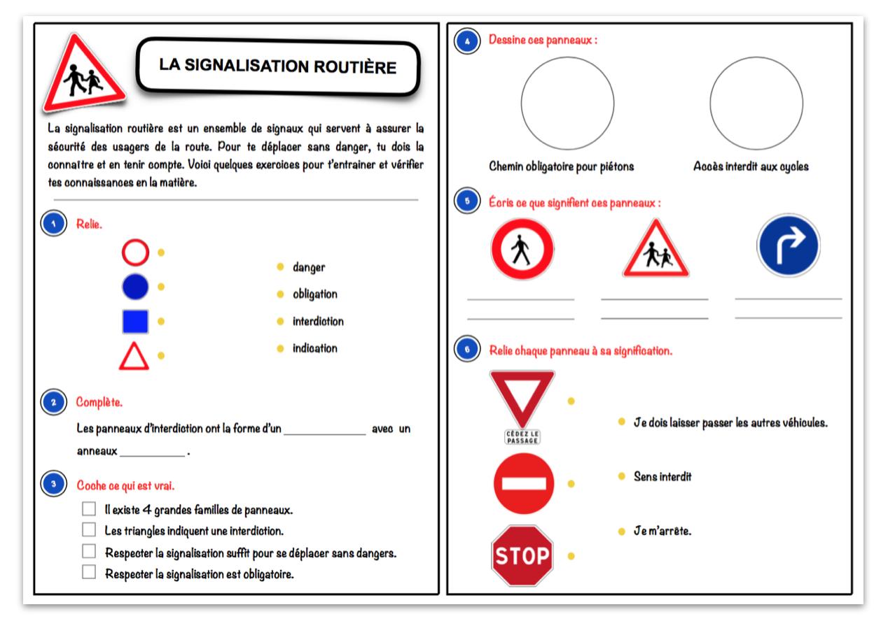 Super La signalisation routière – Le blog du Cancre GY-12