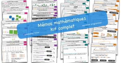 Mémos mathématiques CE1-CE2