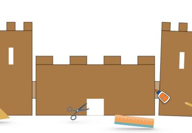 Construire une maquette de château fort