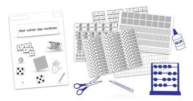 Kit complet cahier des nombres